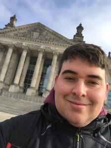 Ich vorm Reichstag