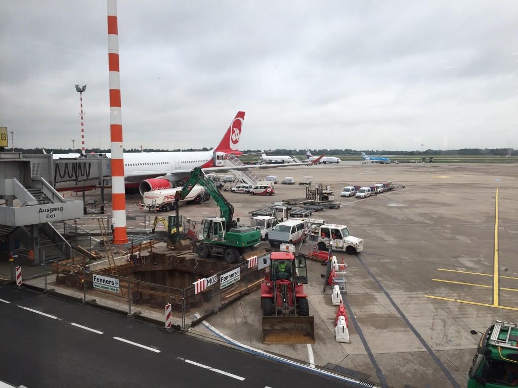 my plane, wait for boarding