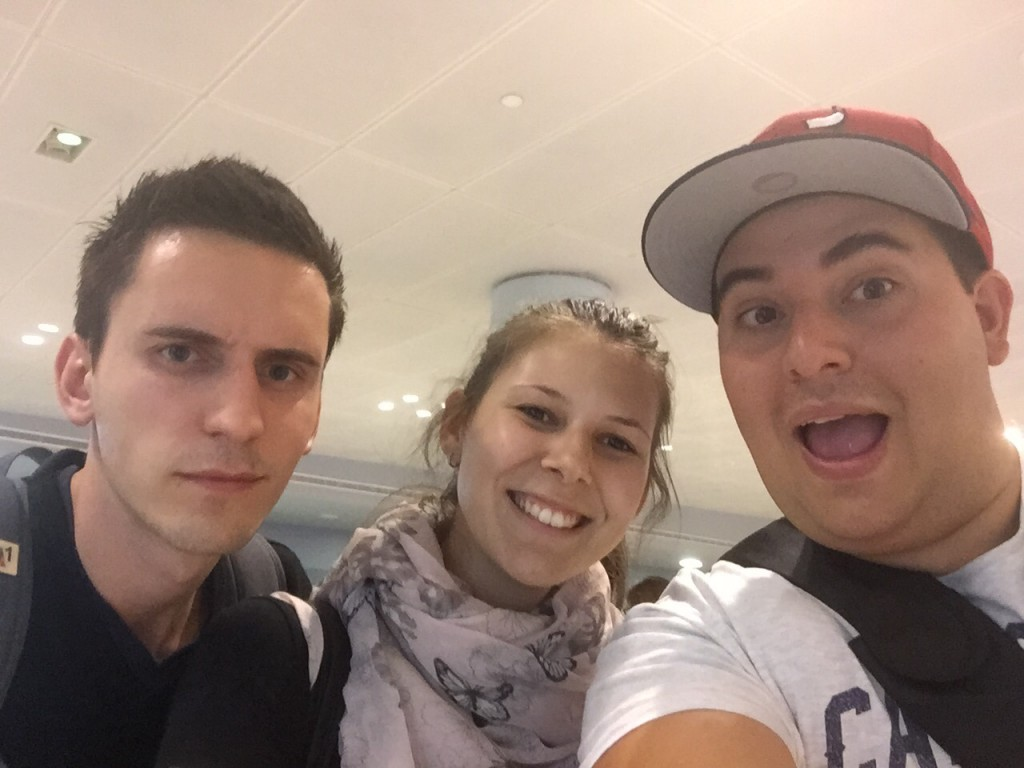 JFK airport Selfie