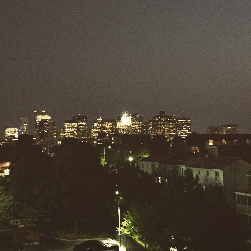 Aussicht vom Apartment