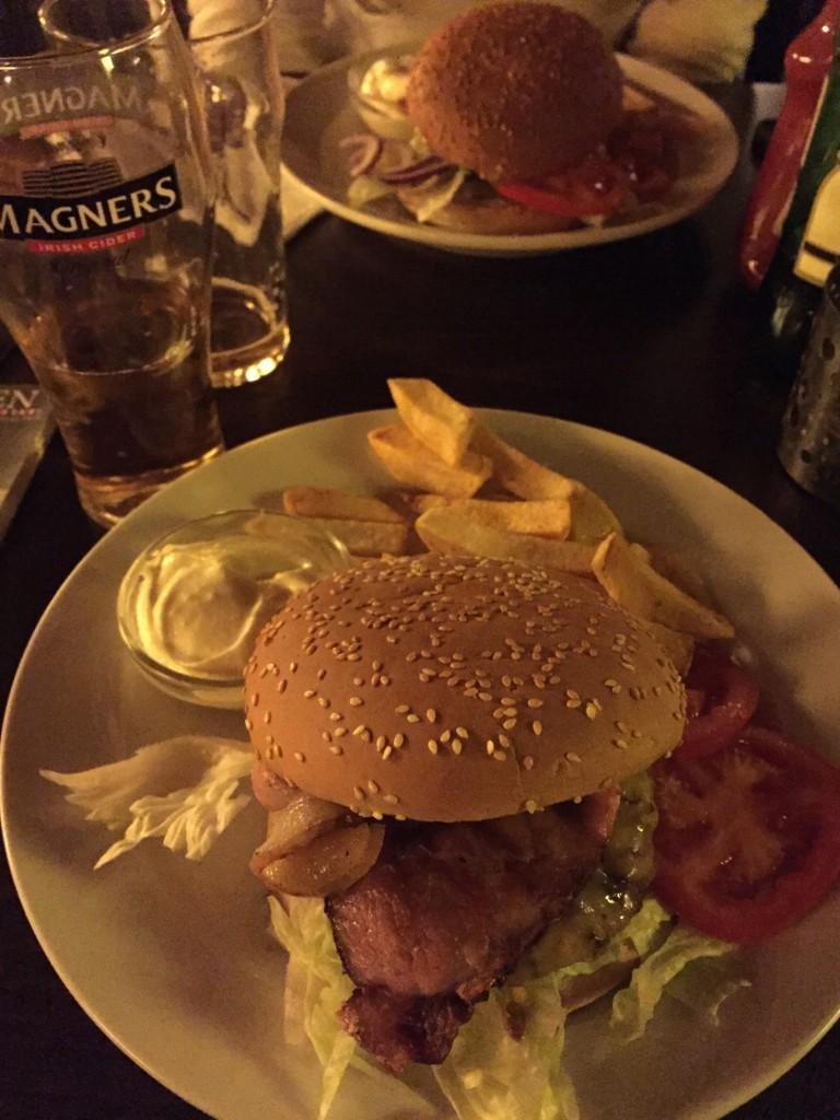 Der Wagyu Burger im Shebeen in Wien!